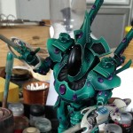 Wraithknight Edelsteine Close-Up